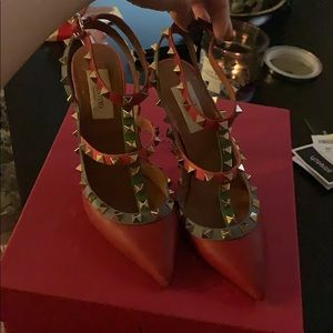 Authentic Valentino rock stud heels